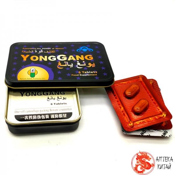 Yong gang для улучшения потенции