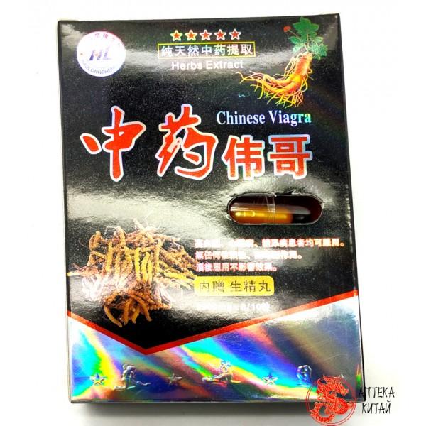 Виагра китайская с кордицепсом