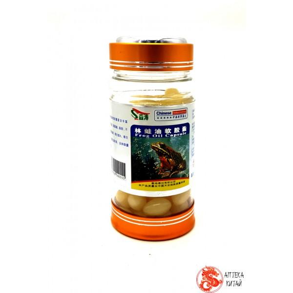 Жир древесной лягушки xixuepai rana egg oil soft capsule для здоровья кровеносной системы