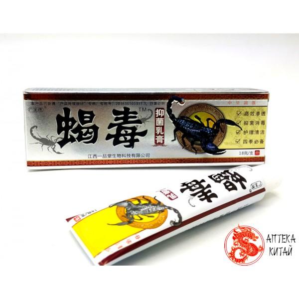Мазь на основе яда скорпиона «Пихюань се...