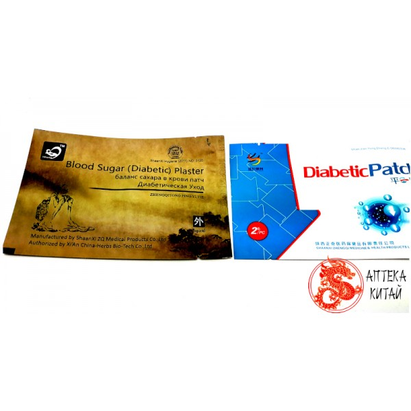 Пластырь от сахарного диабета Diabetic P...
